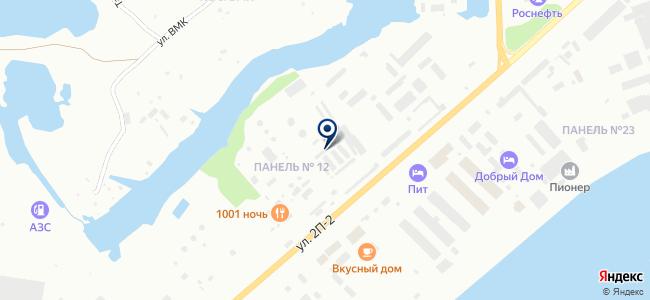 Для ВАЗ на карте