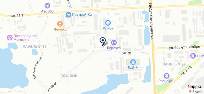 Нордкабель на карте