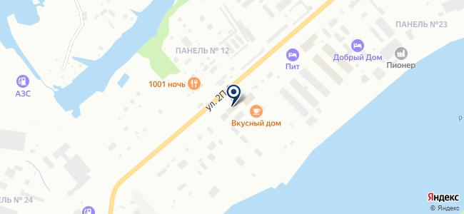 Ионас на карте