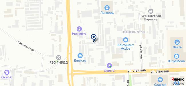 Xenum на карте