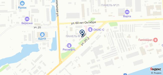 РН-Снабжение, ЗАО на карте