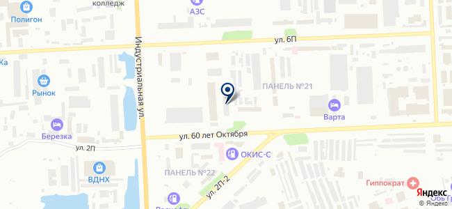 ПАТП №2, ОАО на карте