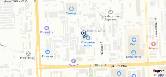 Запчастер на карте