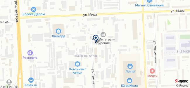 Мазда на карте