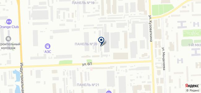 SIBAVTO на карте