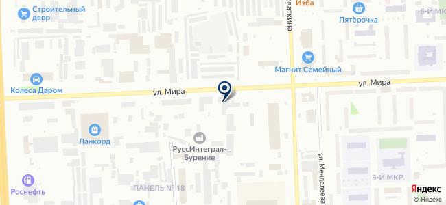 Сибэлектроавтоматика, ЗАО на карте