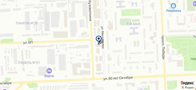 Северэнергосервис на карте