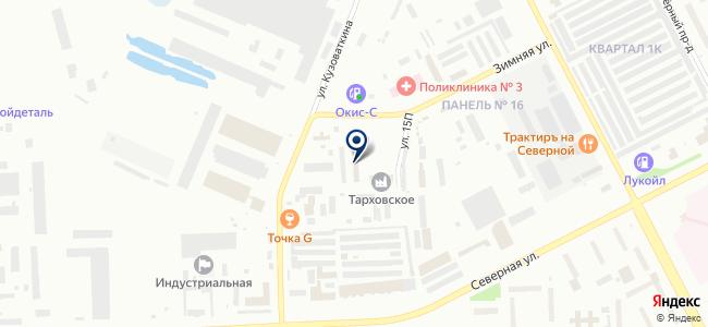 Комплекс+ на карте