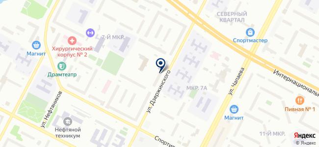 ОкнаПласт-НВ на карте
