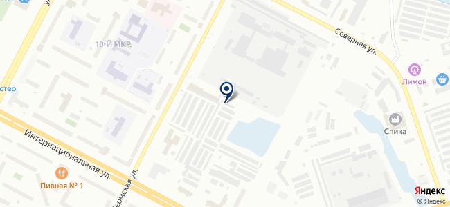 Югра-Люкс на карте