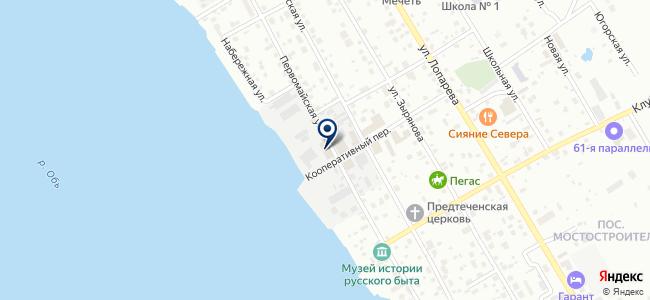 Саваник, ООО на карте