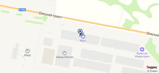 Урало-Сибирская Электротехническая компания, ООО на карте