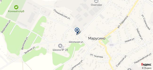 Сибводавтоматик, ЗАО на карте