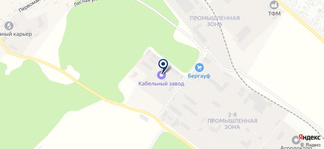 Новосибирский кабельный завод, ООО на карте