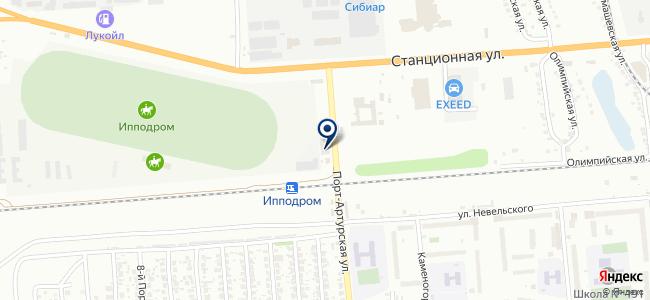 Мерседес-Бенц Сервис на карте