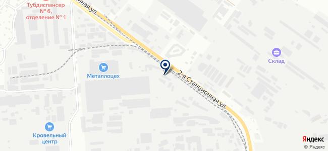 Сибстройэлектро, ЗАО на карте