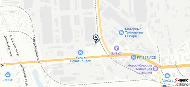 Новосибирская кабельная компания, ООО на карте