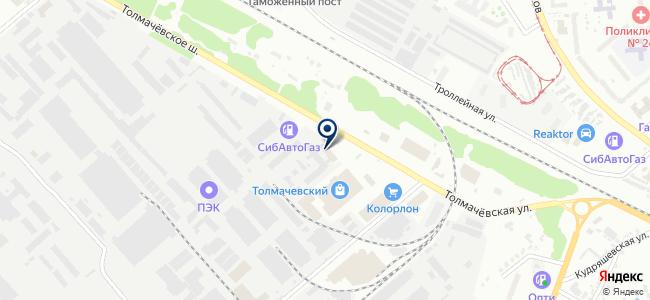 Сибирская индустриальная компания, ЗАО на карте