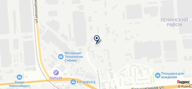 Индустрия инструмента на карте