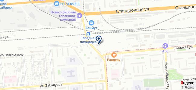 Авто Акцент на карте