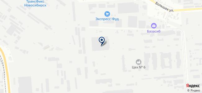 АСД-Новосибирск, ООО на карте