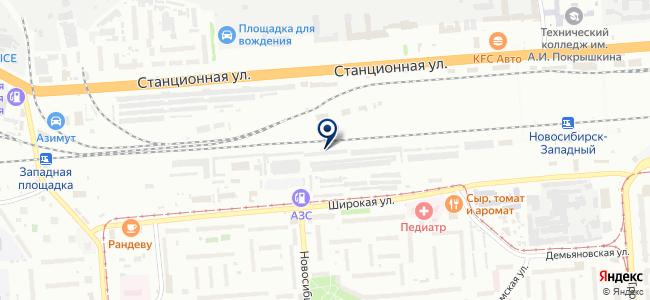 ТТТТ на карте