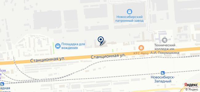 Сибсельмаш-Спецтехника, ОАО на карте