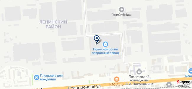 СибирьПроектМонтаж, ООО на карте