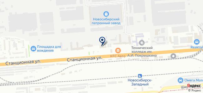 Термекс на карте