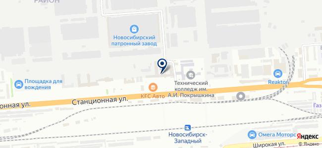 АнтСиб, ООО на карте