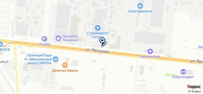 Метиз-Маркет на карте