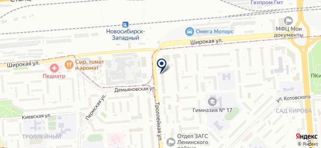 Геолазер, ООО на карте