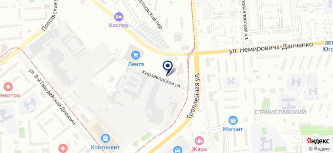 Абверс-строй на карте