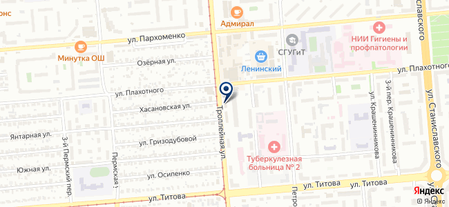 РЕЗИНОТЕХНИКА, ЗАО на карте