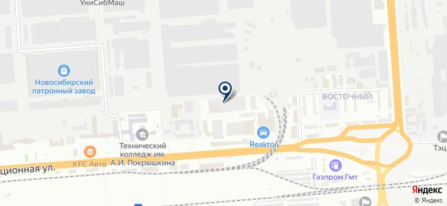 Депод на карте