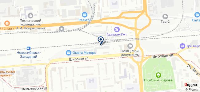 Новотоки, ООО на карте