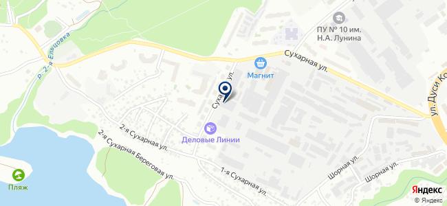 Завод Сибирского Технологического Машиностроения, ЗАО на карте