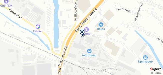 АЛДиС, ОАО на карте