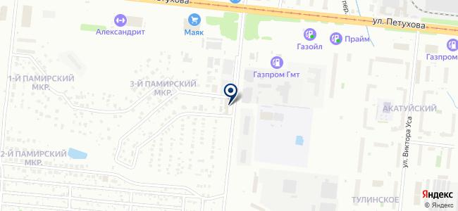Авто Эскулап на карте
