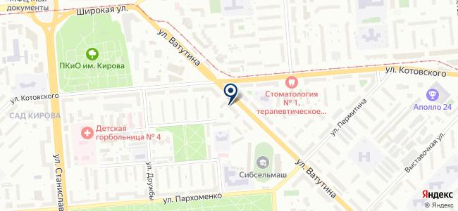 Джемини Электро, ООО на карте