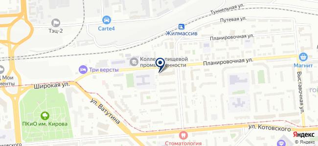 Элетрик НСК на карте