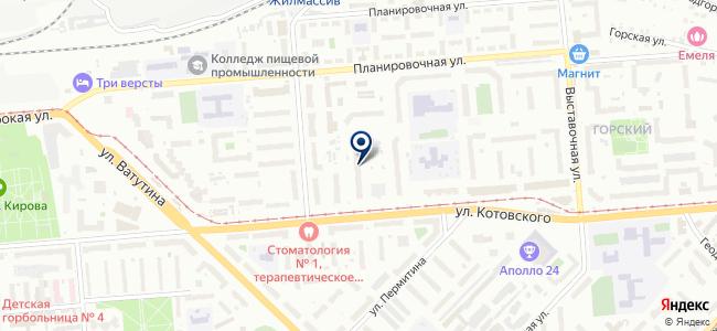 Квартирный Теплосчетчик на карте