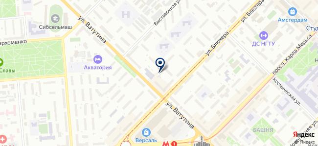 Автосервис на ул. Ватутина, 17 к1 на карте
