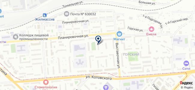 СТК-СИБИРЬ на карте