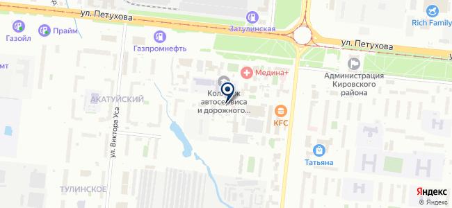 Энергострой на карте