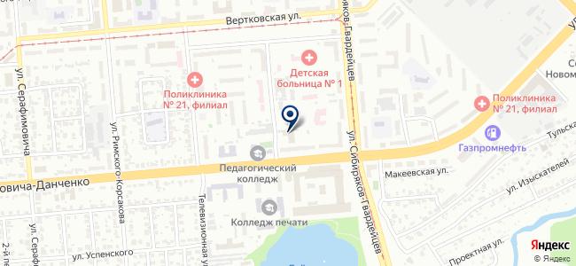 Наладка Сибэлектромонтаж, ЗАО на карте