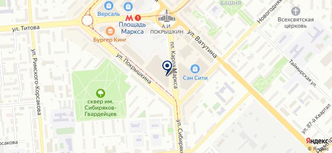 Центр Света на карте
