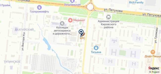 Алмак на карте