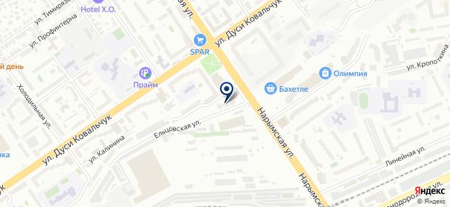 Элма-Сервис, ООО на карте