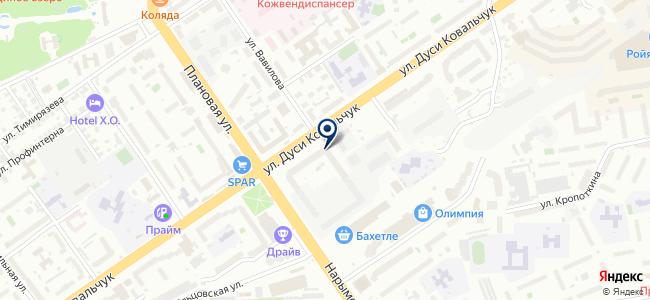 АрхиЛайт, ООО на карте